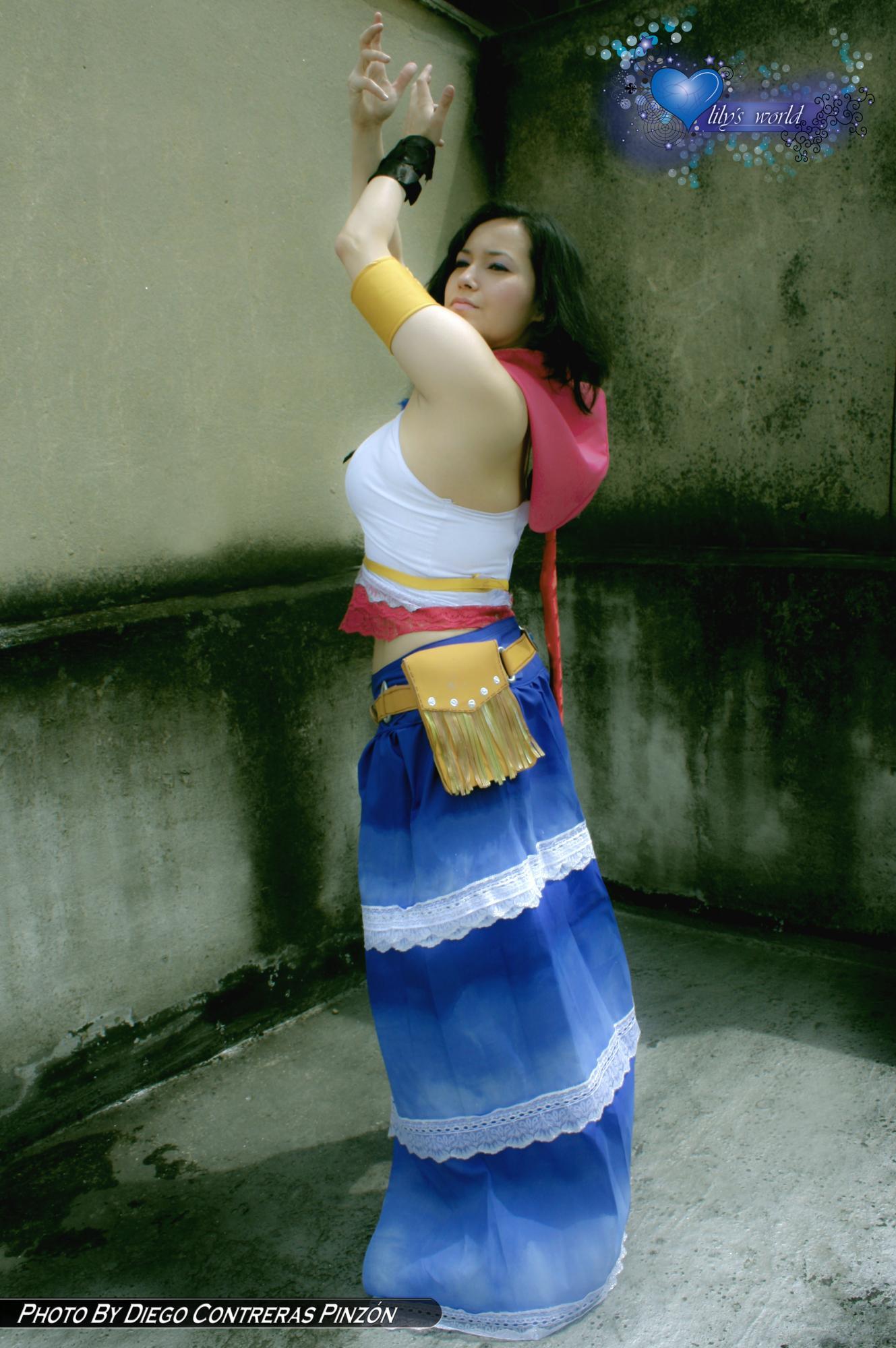 Yuna Final Fantasy X-2 Gunner Cosplay by Ichi-Yume-Okashi